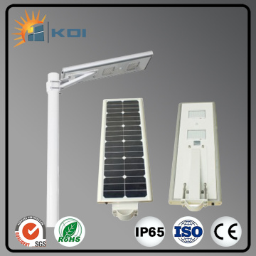 Manufacturer for 8V 30W ALL IN ONE solar street light led