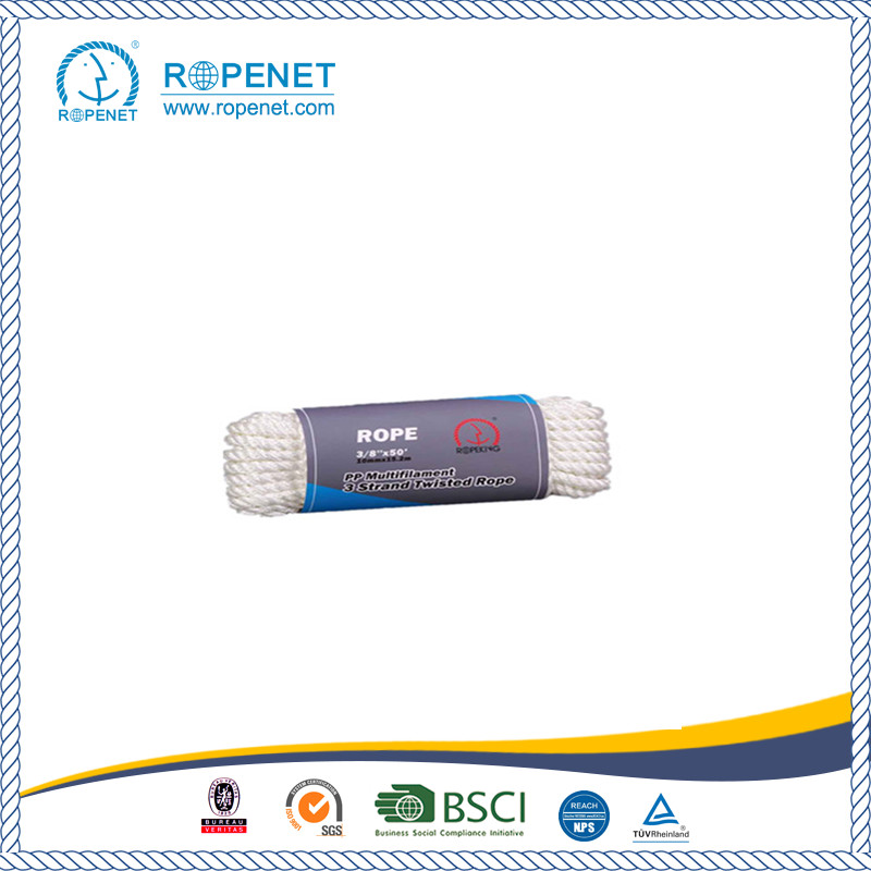 High Strength PP Multifilament Rope For Sales