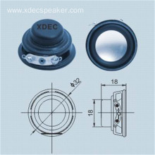 32mm 4ohm 2w multimedia dynamic speaker
