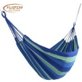750g Lightweight Colorful Striped Camping Hammock For Garden