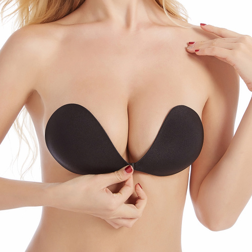 Self Adhesive Strapless Silicone Cloth Invisible Bra