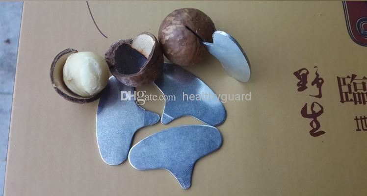 Portable Nut Cracker sheller Walnuts MACADAMIA NUTS Metal Key Opener Nut tools Free shipping