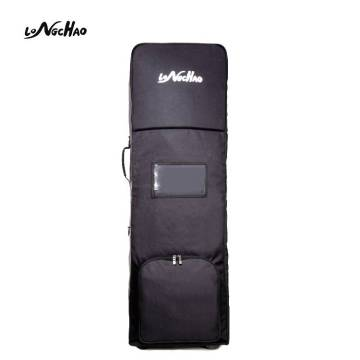 High Quality Waterproof Golf Bag Travel Cover Air Bag With Two Wheels Easy to Carry