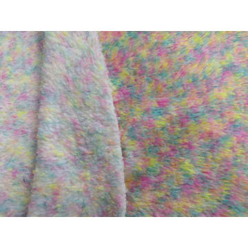100% Polyester Malange Sherpa Fleece Knitting Fabric