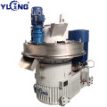 YULONG XGJ560 agico wood pellet mill