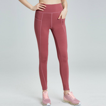 Pink leggings with Stash Pocket Tights