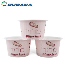 3oz Disposable plastic mini sauce cup for pudding
