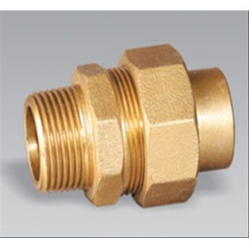 Brass pipe fitting brass Male Equal Union