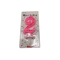Birthday Colored Number Candle for Birthday Party Use
