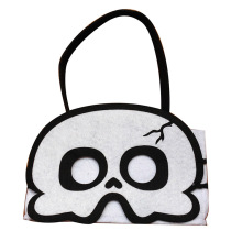 Multifunction Halloween party candy tote bag with mask
