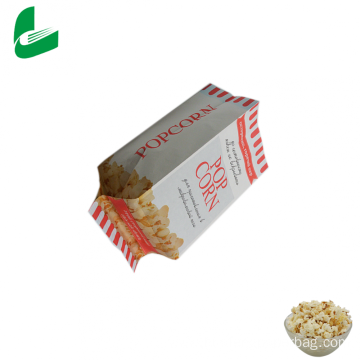 Wholesale kraft paper microwave popcorn bag