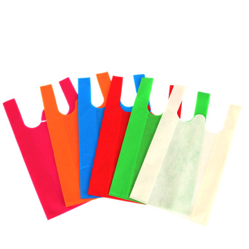 Custom Biodegradable Vest Non Woven Bags