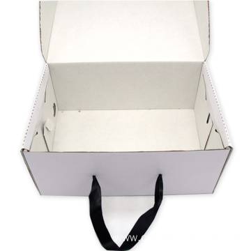 Customized Portable Box High-End Corrugated Paper Shoe Box
