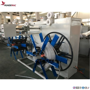 PE/PVC single wall corrugated pipe extrusion line