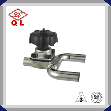 Sanitary Stainless Steel Welded Diaphragm Valve