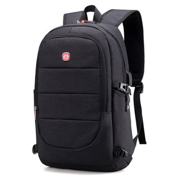 USB charge port travel men's fashion backpack