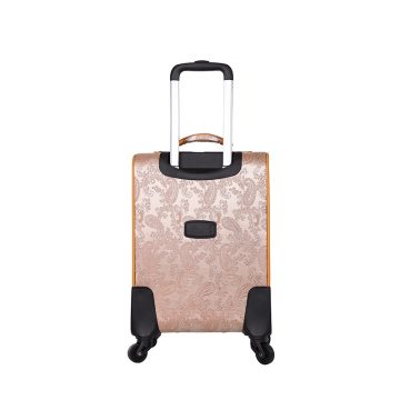 Online PU leather handle travel luggage