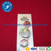 Slide Card Blister Packaging PET PP Custom
