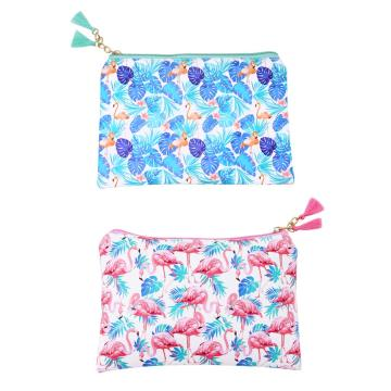 FLAMINGOS PU PENCIL CASE-0