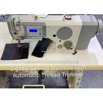 Zigzag Sewing Machine with Automatic Thread Trimmer