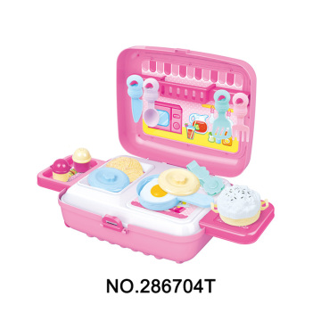 Kitchen and Painting Play Set Cooking Toys