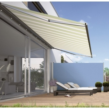 Retractable arms awning 2.5*2.0M Red