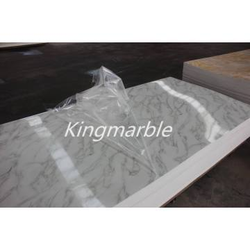 waterproof bathroom uv marble panel