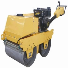 Famous Walk-behind Double Drum Vibratory Road Roller