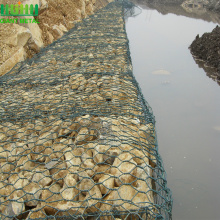 Hexagonal widely used pvc coated gabion box