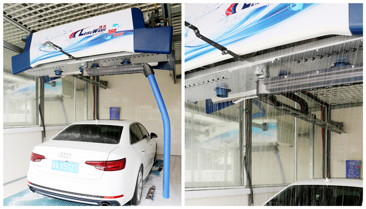 touchless car wash equipment