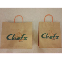 Kraft Bags With Handles Wholesale