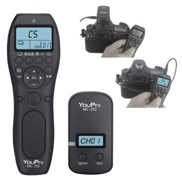 Wireless Timer Remote Control Shutter Release Cable for Canon Nikon Sony Olympus Fujifilm Panasonic Samsung Contax Fuji Pentax
