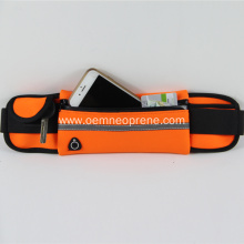 Waterproof neoprene waist pack bag running belt