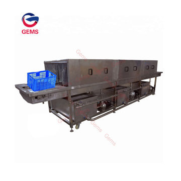 Plastic Box Cleaning Basket Machine Pallet Cleaner Machine