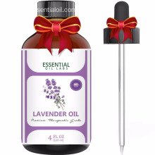 Customize Logo Aromatherapy Lavender Essential Oil