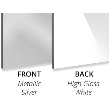 3MM Metallic Silver Aluminium Composite Panel