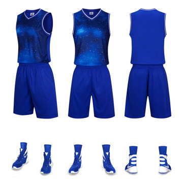 100 polyester customized sublimation basketball jersey