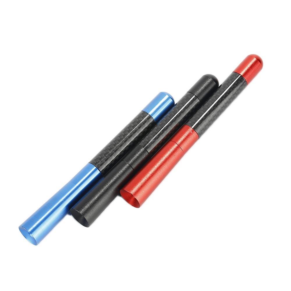 "4.7"" Screw-On Auto Car Black Color Short Stubby Antenna AM/FM Radio Aerial Mast Screw Type Universal Car Accessories"