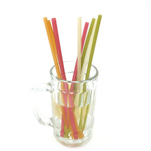 Biodegradable Rice Straws - 100% Natural Organic Eco Friendly Disposable Drinking Straws - Perfect Alternative to Plastic, Paper