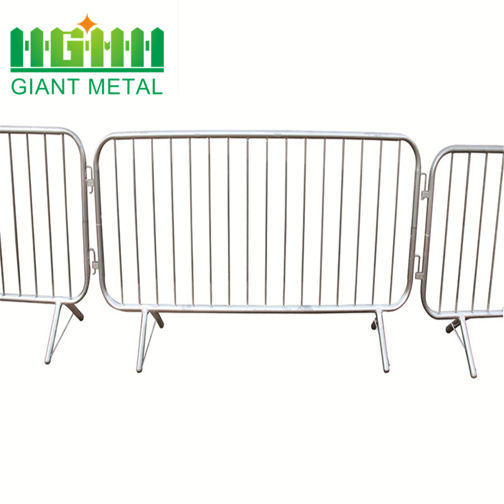 Temporary Portable PVC Crowd Barrier for Road