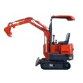 mini excavator XN08 with  hydraulic thumb