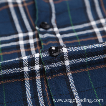 2020 Fashion 100% cotton flannel shirt