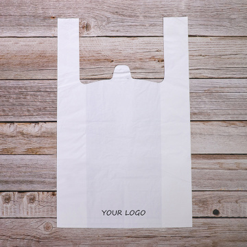 Supermarket Shopping Biodegradable Printing T-shirt Bags