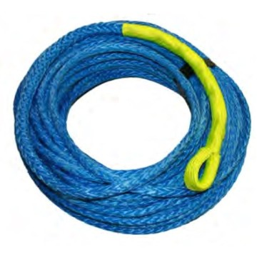Uhmwpe hollow braid 10mm 12 strands marin