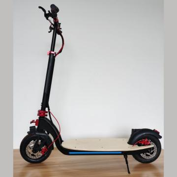 Foldable Black Maple Electric Scooter for Adult