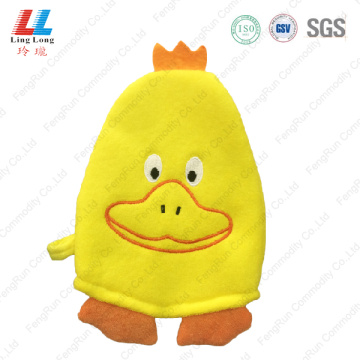 Foam massage animal bath gloves item