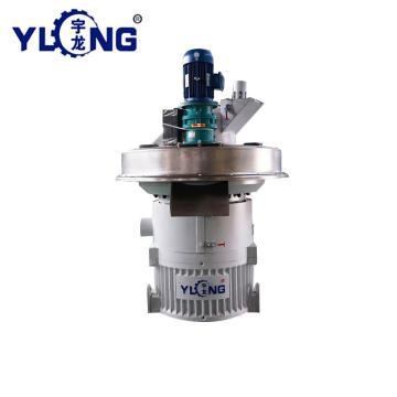 YULONG XGJ560 Cotton stalk pellet mill