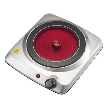 Electrical Infrared Ceramic Cooktop Round Plate