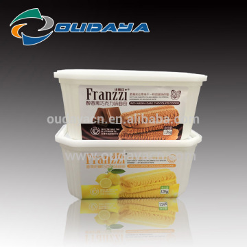 Food grade plastic biscuit box