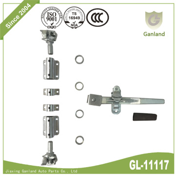 Standard Shipping Container Door Locking Gear